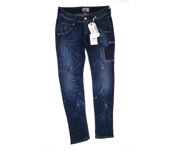 Jeans Donna Met Tg. 30 Made in Italy