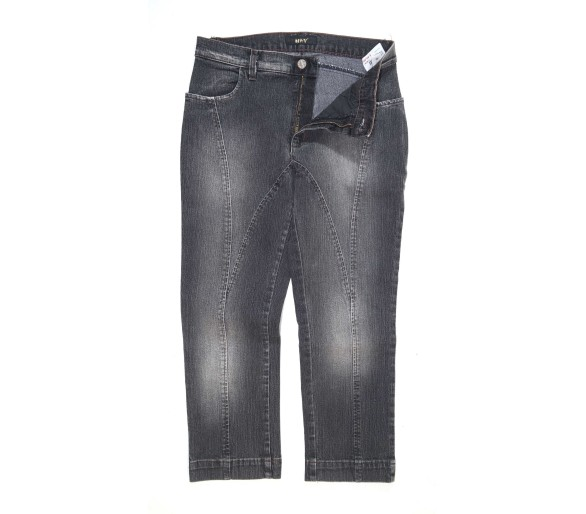 Pinocchietto Jeans Donna Mhv Tg. 44 Made in Italy